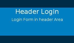Header Login