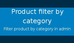 Product filter by category