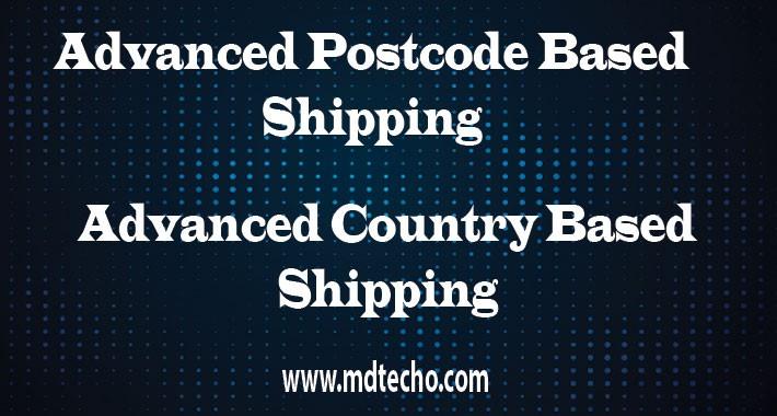 Advance Postcode Based Shipping