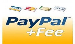 Paypal standard Fee