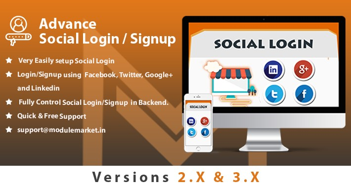 Advance Social Login/ Signup | Facebook  Login