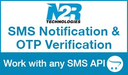 SMS Notification + OTP Verification. Work with a..