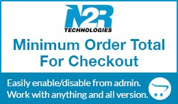 Minimum Order Total for Checkout
