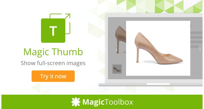 Magic Thumb - image lightbox & product video (free demo)