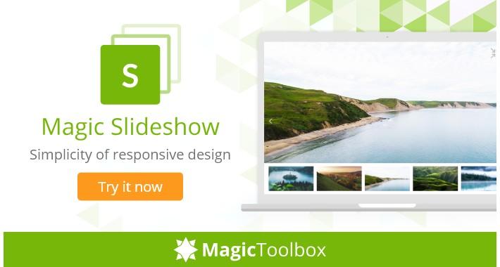 Magic Slideshow - free demo image slideshow