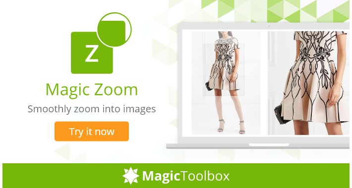 OpenCart - Magic Zoom - image zoom & product video (free demo)