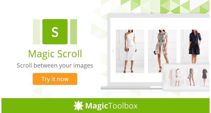 Magic Scroll - free demo image carousel