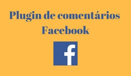 Plugin de comentários Facebook / Facebook Comment