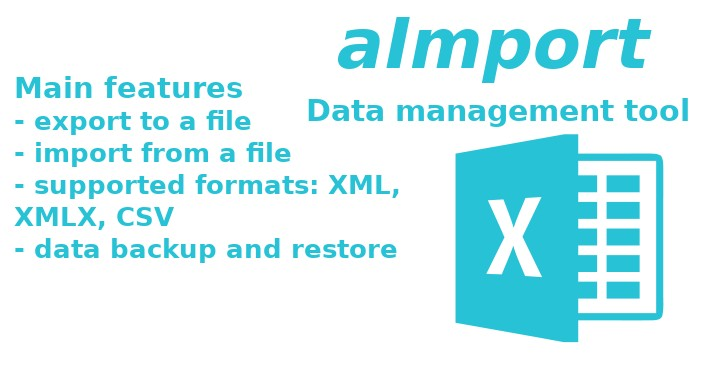 aImport (Import/Export/Backup/Migrate) OpenCart 2-3
