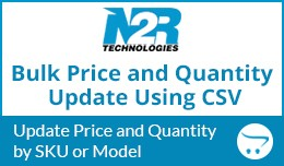 Bulk Price and Quantity Update using CSV