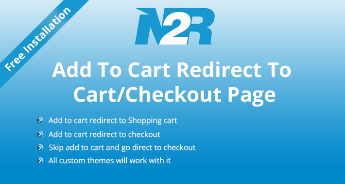 Add To Cart Redirect To Cart/Checkout Page
