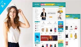 Online Shop Ecommerce OpenCart 3.X Website Theme