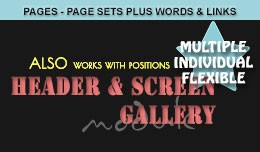 Full Width - Full Page - include / exclude pages