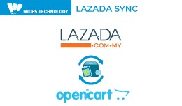 MICES SyncGo for Opencart - Lazada