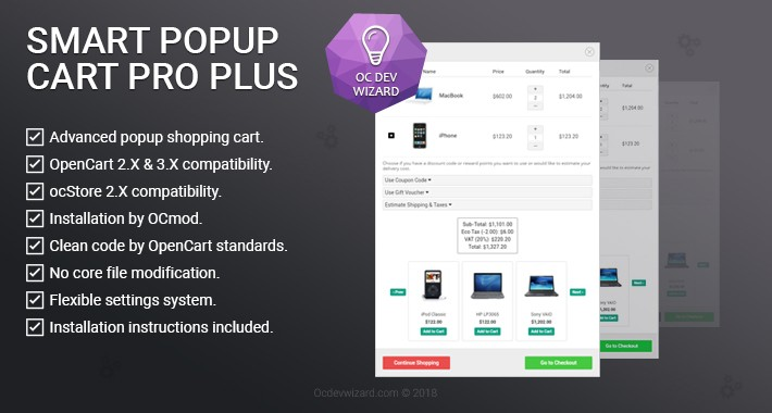 Smart Popup Cart Pro Plus