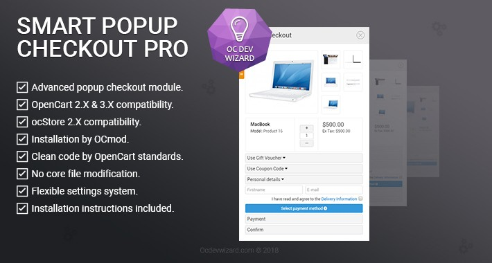 Smart Popup Checkout Pro