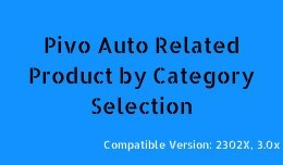 Auto Related Product by Category Selection