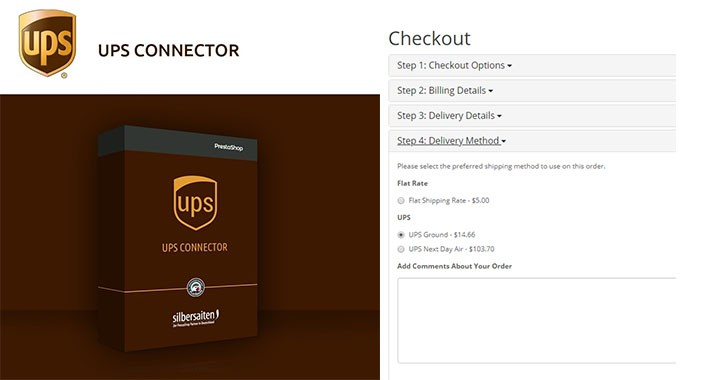 UPS Shipping with Print Label