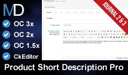 Product Short Description Pro + CkEditor - Journ..