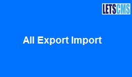 All Export Import