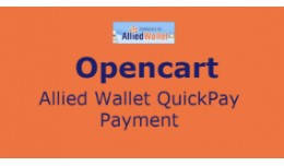 Opencart Allied Wallet QuickPay Payment