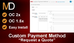 Custom Payment Method - Request a Payment Quote