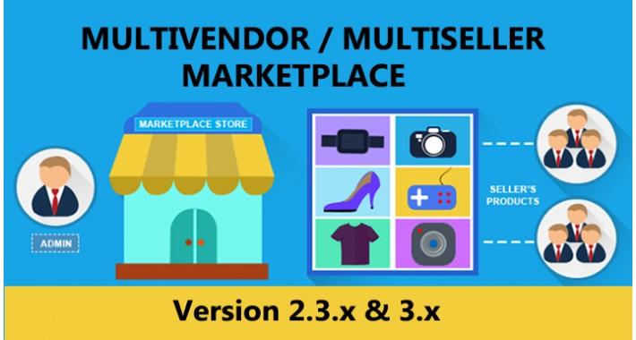 Multiseller/Multivendor marketplace