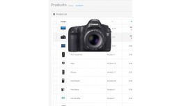 Zoom Image Product List Admin