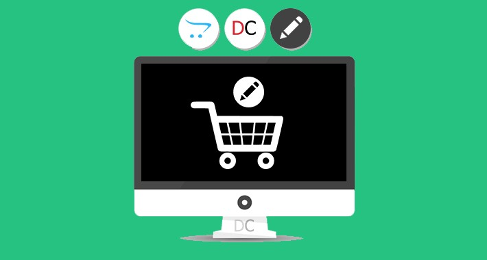 Manage products in customer's cart