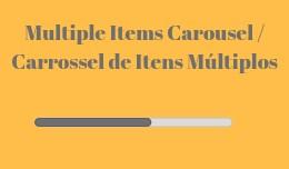Carrossel de Produtos / Product Carousel