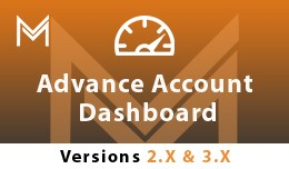 Advance Account Dashboard (JOURNAL THEME COMPATI..