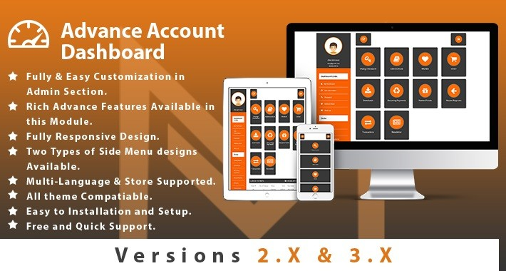 Advance Account Dashboard (JOURNAL THEME COMPATIBLE)