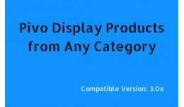 Product by Category Display for OC 3.0.x