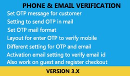 Phone and Email Verification