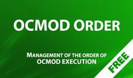 OCMOD Order - Management of the order of OCMOD e..
