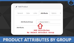 Product Attributes By Attribute Group in Opencar..