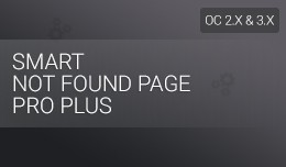 Smart Not Found Page Pro Plus