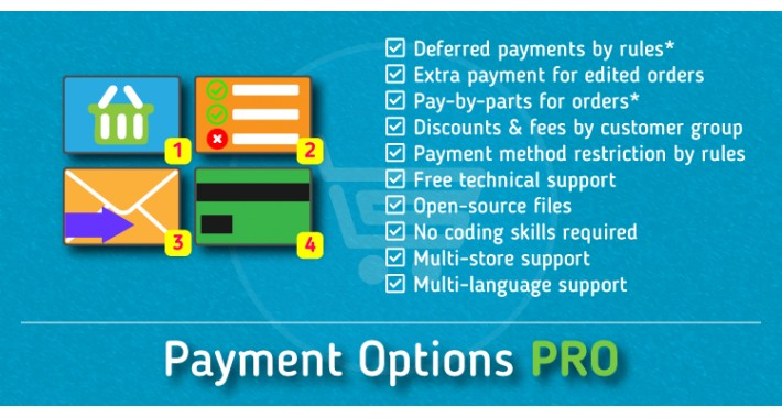 Payment Options PRO