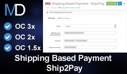 Shipping Based Payment - Ship2Pay