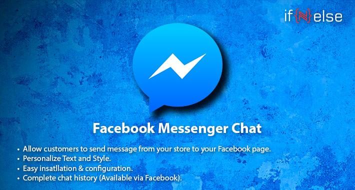 Facebook Messanger Chat/Support
