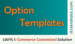 Product Options Templates Faster Data Entry