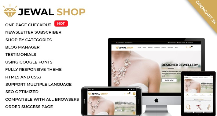 Jewel Shop (multipurpose theme)