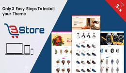 3store OpenCart 3.X Website Template(Watch,flowe..