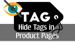 Hide/Remove Tags in Product Pages