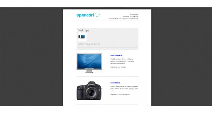 Category Page PDF Generator