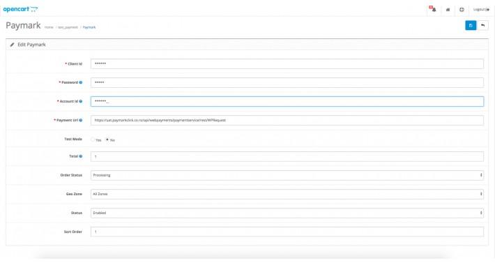 Paymark Click New Zealand (NZ) Payment Gateway Opencart