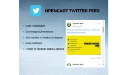 OpenCart Twitter Feeds