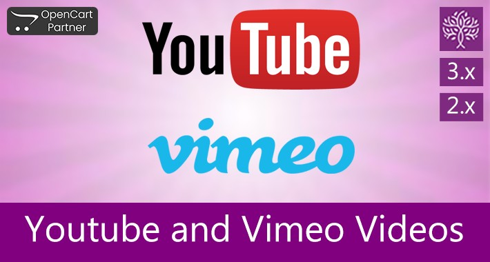 Youtube and Vimeo Video on Product Page