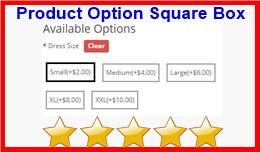 Product Option Square Box