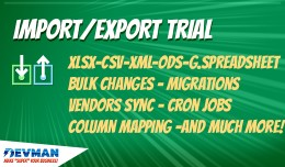 Import/Export TRIAL - The most complete importer..